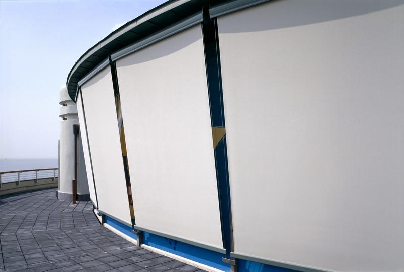 Estor enrollable guiado exterior screen enxebre decoraci n for Estor enrollable exterior