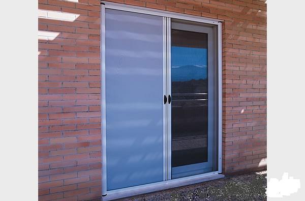 Mosquitera enrollable doble puerta