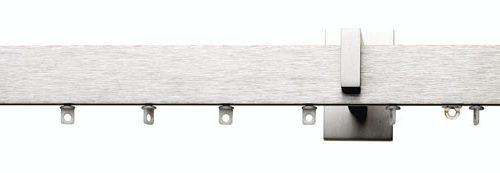 Riel Urban Aluminio con terminal rectangular
