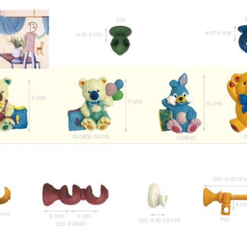Accesorios de la colección Infantil.