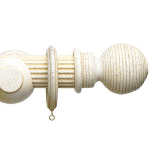 Barra estriada acabado piedra modelo Bola.