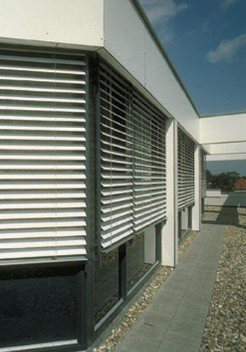 Venecianas de aluminio exteriores