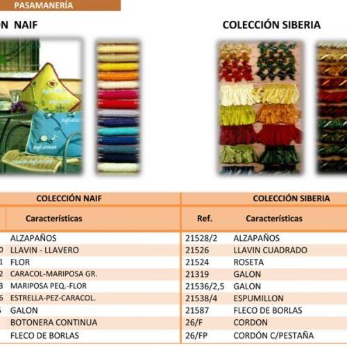 Pasamaneria Colección Naif